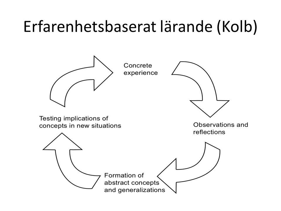 Erfarenhetsbaserat lärande (Kolb)