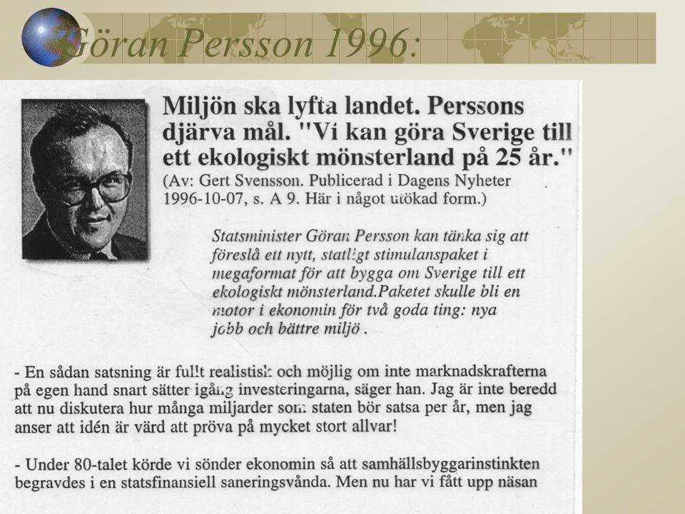 Göran Persson 1996: