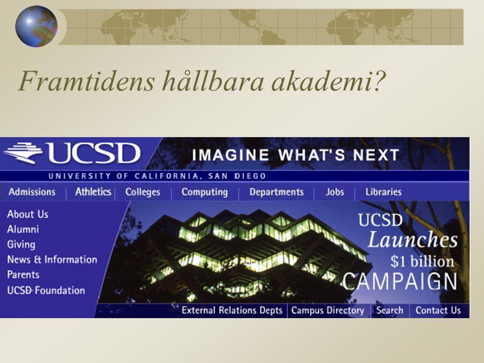 Framtidens hållbara akademi?