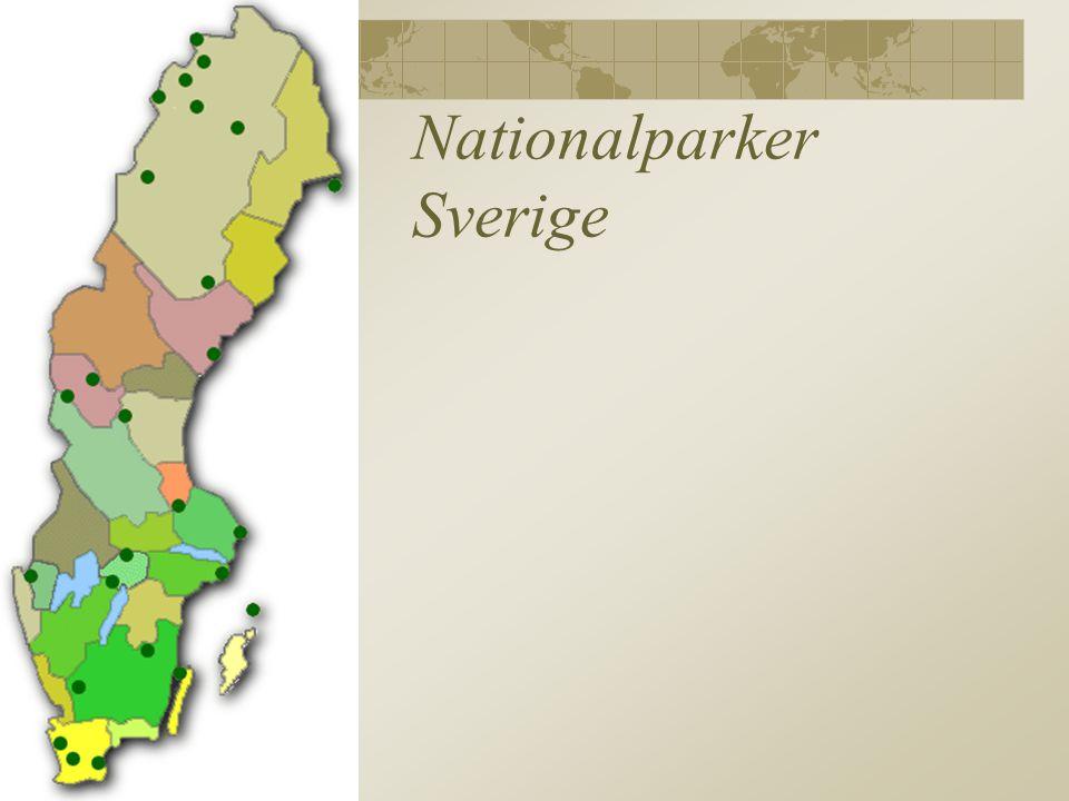 Nationalparker Sverige