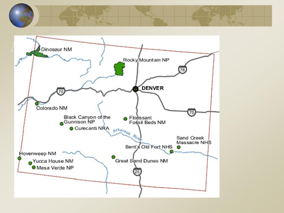 Nationalparker: Colorado