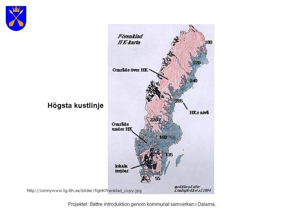 Korta exempel på svensk historia under 1200 år Projektet: Bättre introduktion genom kommunal samverkan i Dalarna.