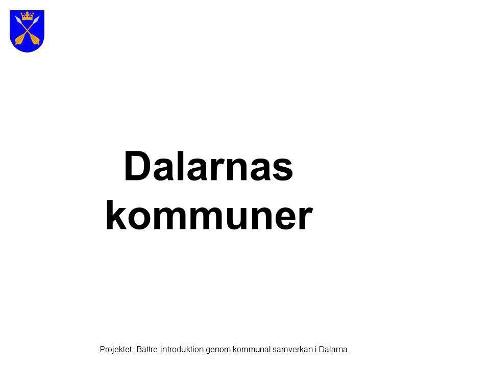 Världsarvet Falun Projektet: Bättre introduktion genom kommunal samverkan i Dalarna.