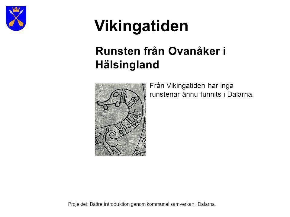 Vikingarnas resor Projektet: Bättre introduktion genom kommunal samverkan i Dalarna.