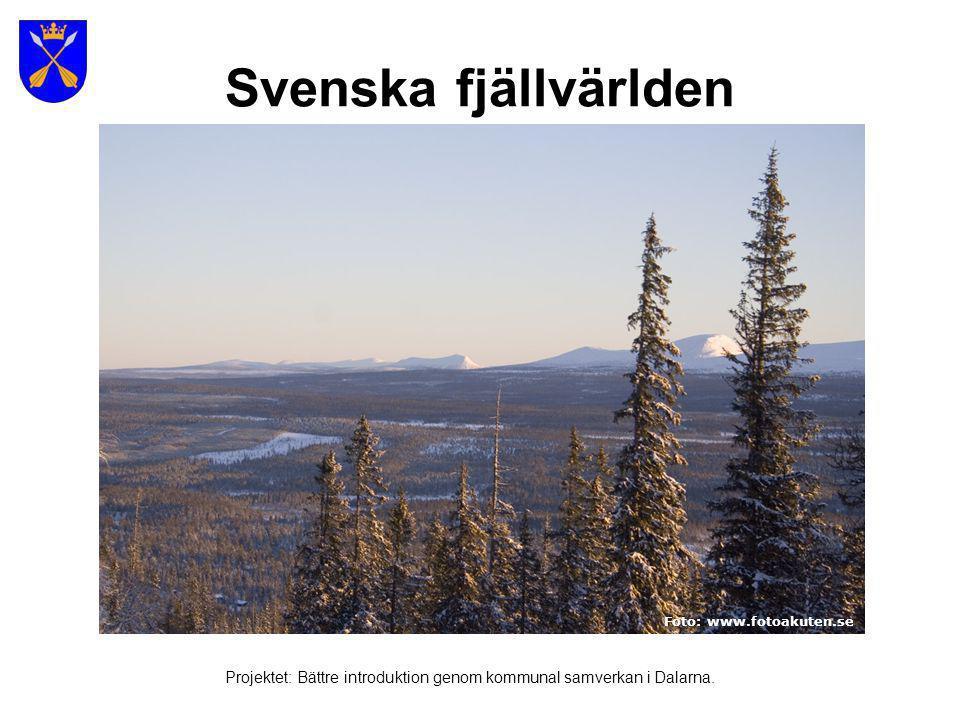 Höga Kusten 1800 meter Foto : Björn Roos (se även länk i bilden) Projektet: Bättre introduktion genom kommunal samverkan i Dalarna.