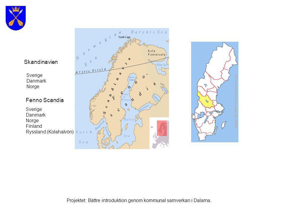 Sverige Projektet: Bättre introduktion genom kommunal samverkan i Dalarna.