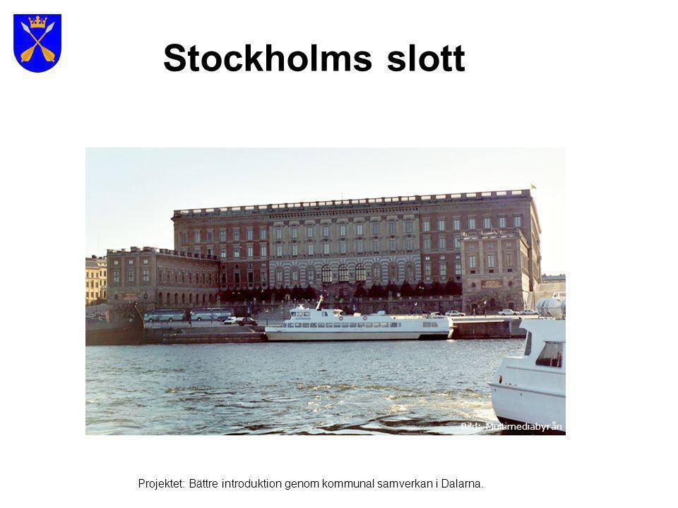 Gamla Stan Bild: Multimediabyrån Foto: www.fotoakuten.se Projektet: Bättre introduktion genom kommunal samverkan i Dalarna.