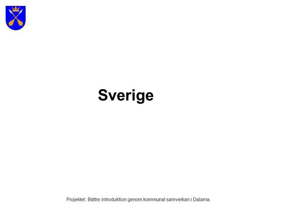 Källa: http://www.smf.su.se/ Projektet: Bättre introduktion genom kommunal samverkan i Dalarna.
