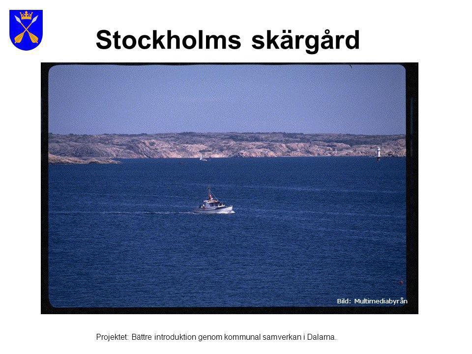 Sveriges 2 största öar Öland Gotland Projektet: Bättre introduktion genom kommunal samverkan i Dalarna.