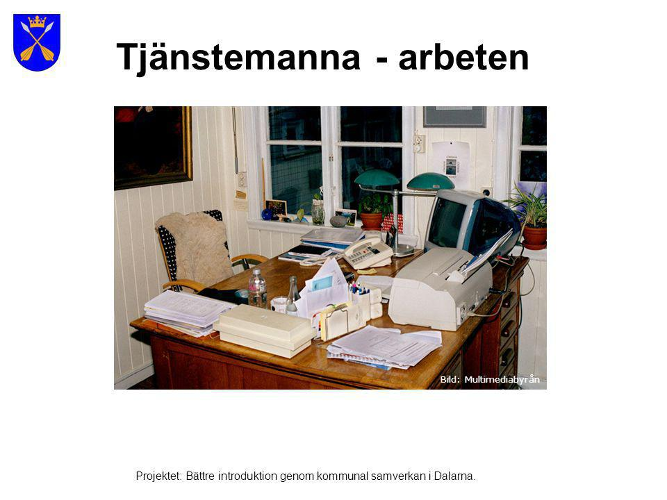 Stålindustri och papper Projektet: Bättre introduktion genom kommunal samverkan i Dalarna.