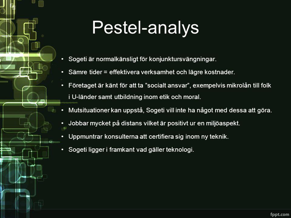 STP-analys Segmentering •Riktar sig till medel- samt stora företag.