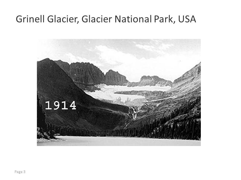 Page 3 Grinell Glacier, Glacier National Park, USA