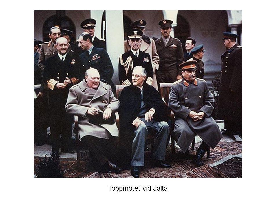 Toppmötet vid Jalta