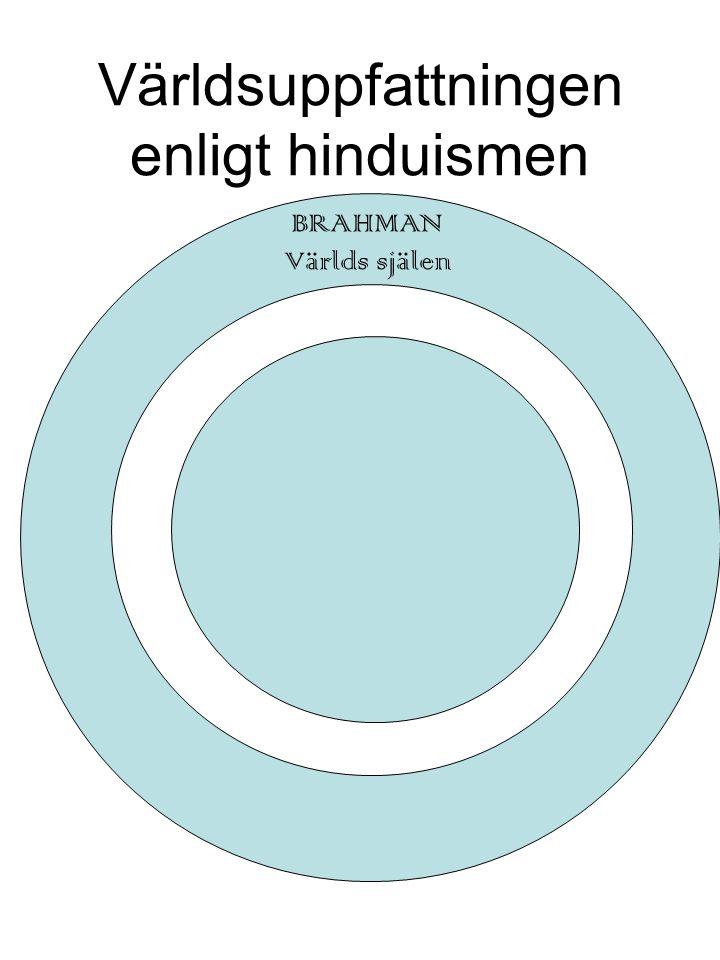 Världsuppfattningen enligt hinduismen BRAHMAN Världs själen