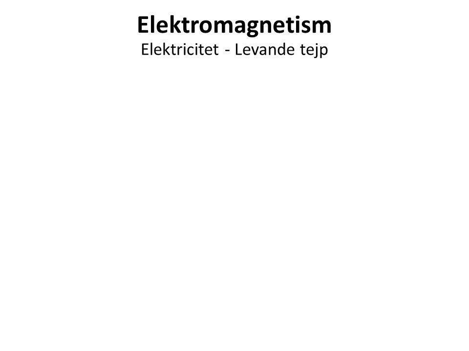 Elektromagnetism Elektricitet - Levande tejp
