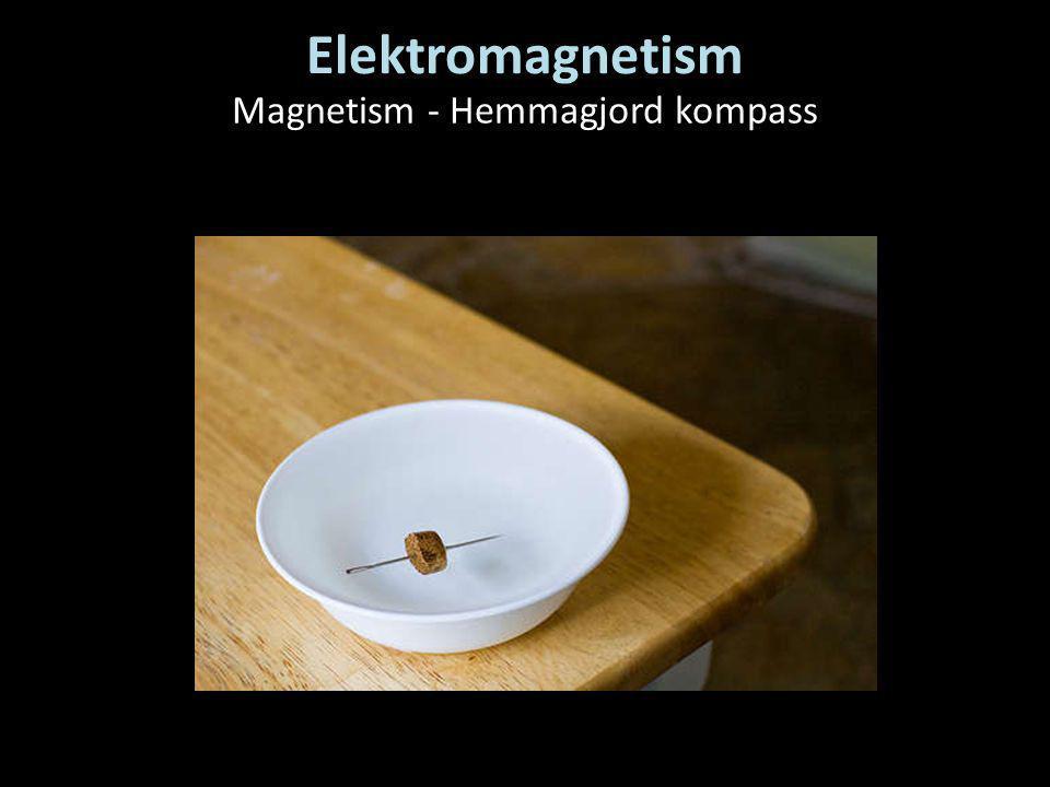Elektromagnetism Magnetism - Hemmagjord kompass