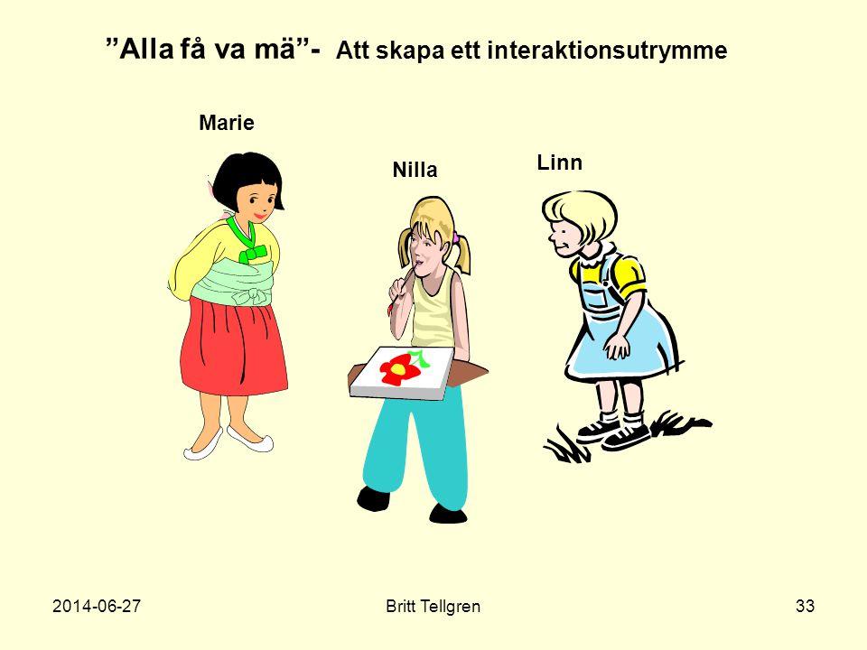 """Nilla Marie Linn """"Alla få va mä""""- Att skapa ett interaktionsutrymme 2014-06-2733Britt Tellgren"""