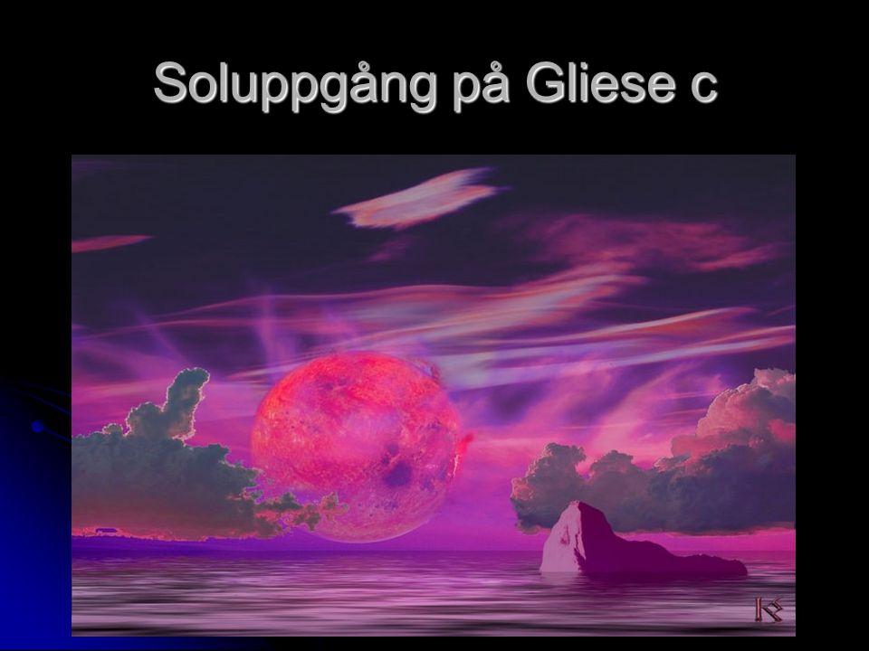 Soluppgång på Gliese c