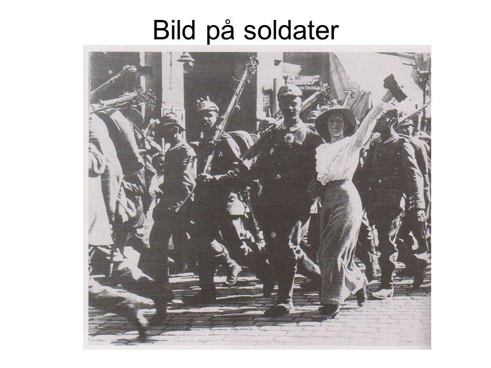 Bild på soldater