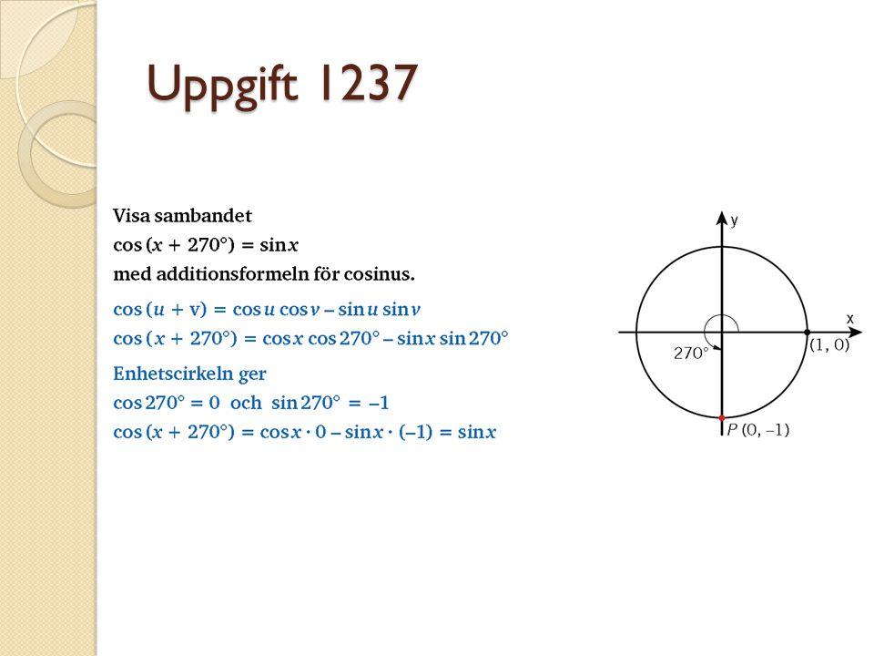 Uppgift 1237
