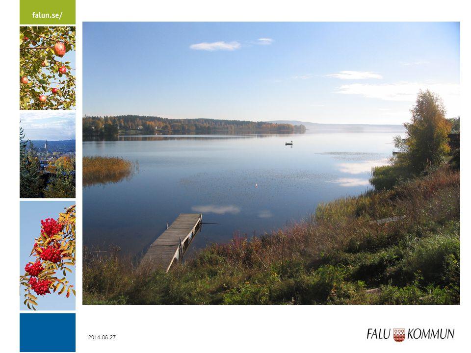 Vikasjön i Falu kommun