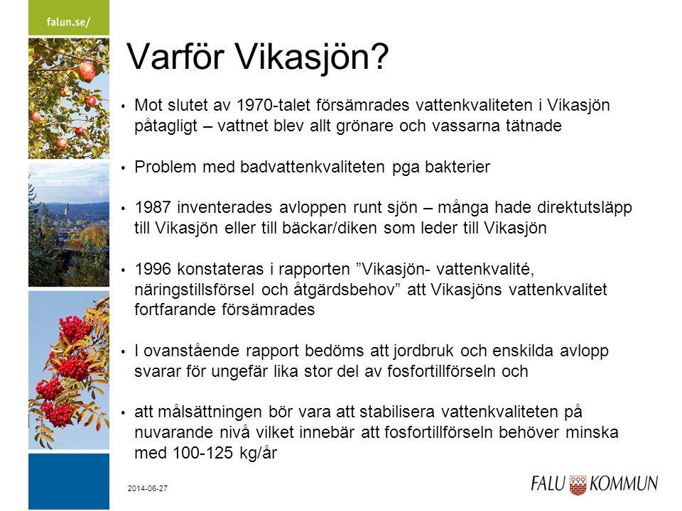 2014-06-27 Varför Vikasjön.