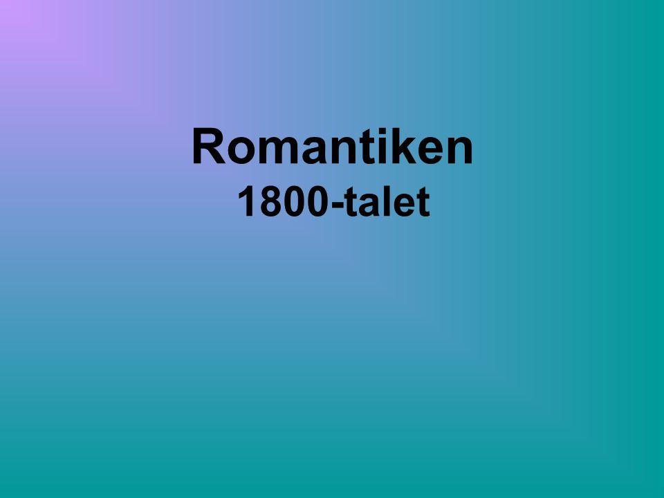 Romantiken 1800-talet