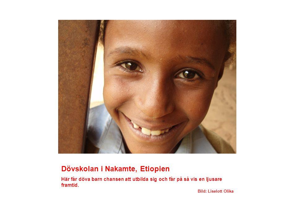 Aira sjukhus, Etiopien Här arbetar BIALs missionär Sennait Erichsen tillsammans med sin man Erik.