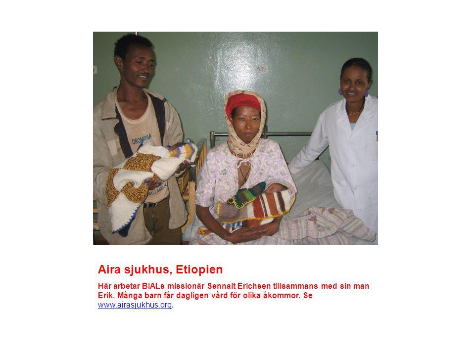 WSG (Win Souls for God)/Hope for Children, Etiopien Genom WSGs arbete får fattiga barn gratis skolgång.