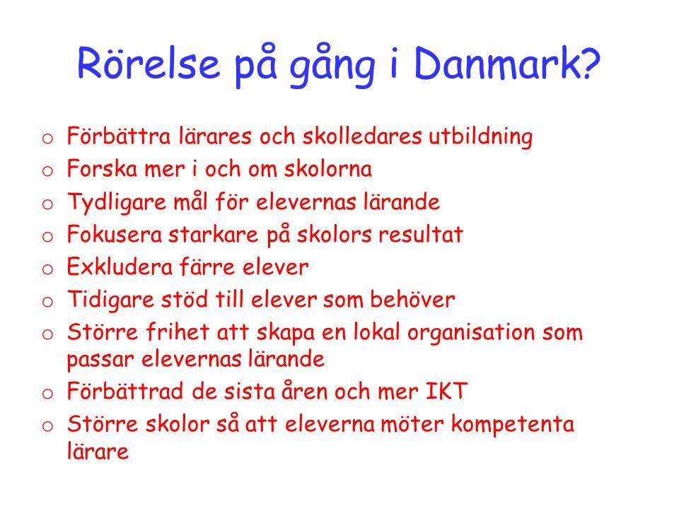Rörelse på gång i Danmark.