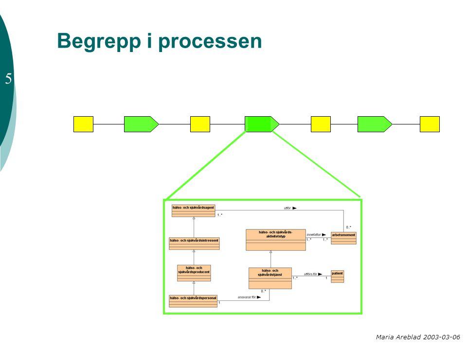 Begrepp i processen Maria Areblad 2003-03-06 5