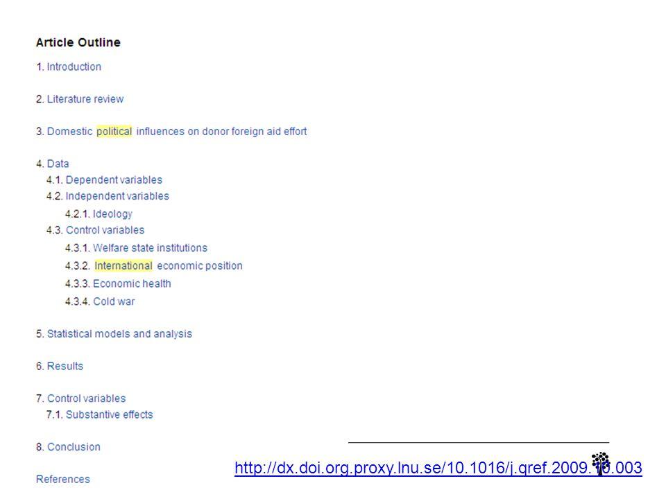 http://dx.doi.org.proxy.lnu.se/10.1016/j.qref.2009.10.003
