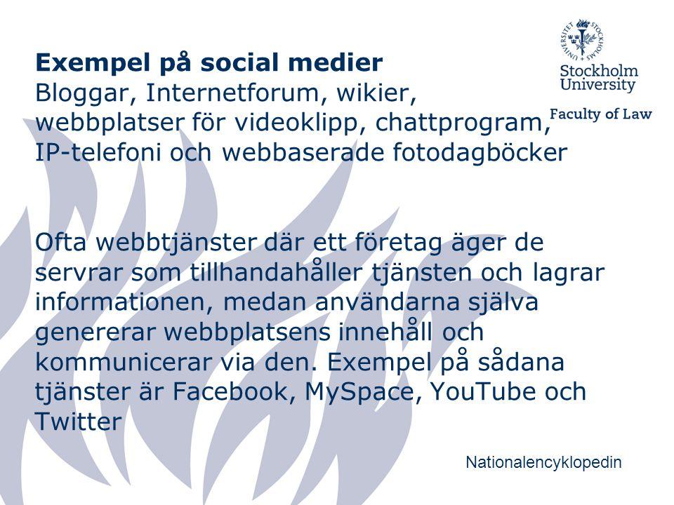 Rankingsystem social medier Antal besökare Antal länkar