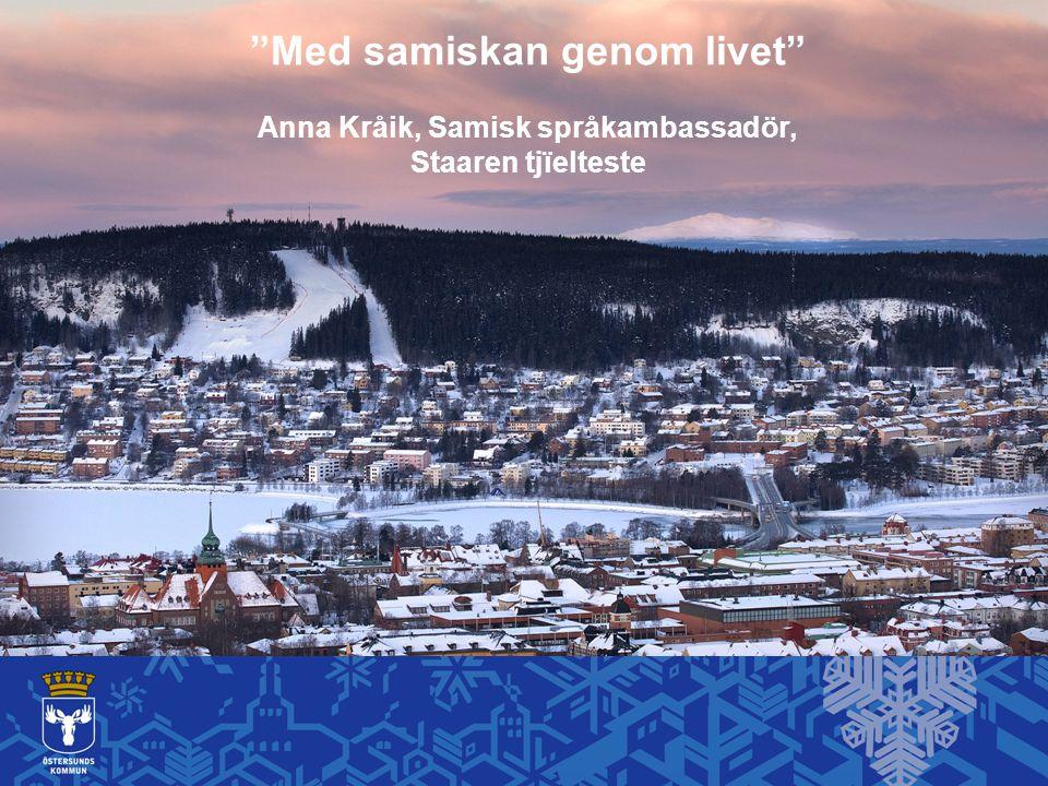 Samisk undervisning i Sverige Sameskolan Samiska 4h/v 912h på 6 år Kommunal skola – integrering Samiska 2h/v420h på 6 år Kommunal skola Samiska 0,4 h/v91,2h på 6 år