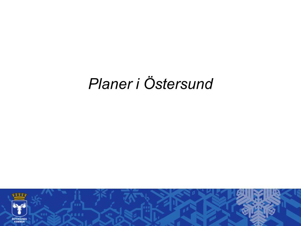 Planer i Östersund
