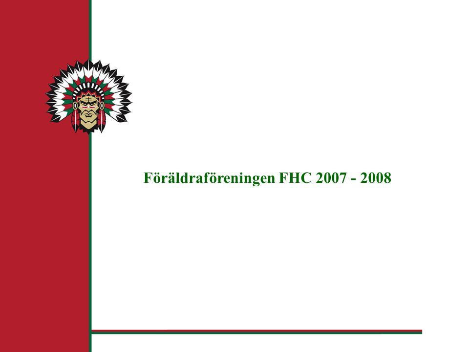 Föräldraföreningen FHC 2007 - 2008