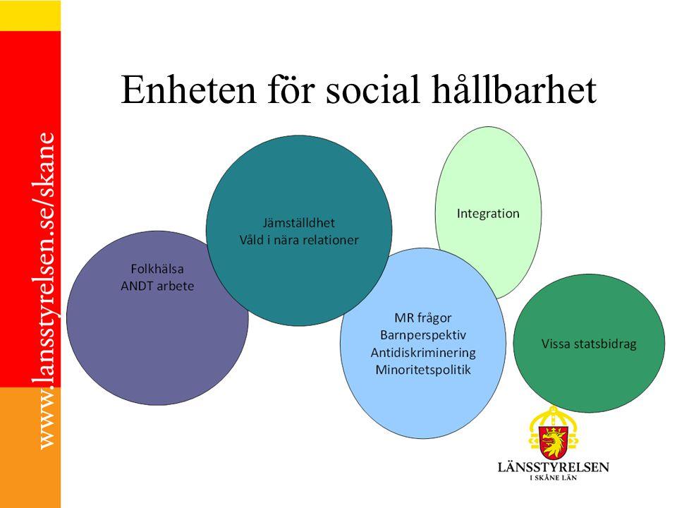 Enheten för social hållbarhet