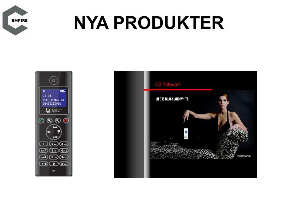 NYA PRODUKTER