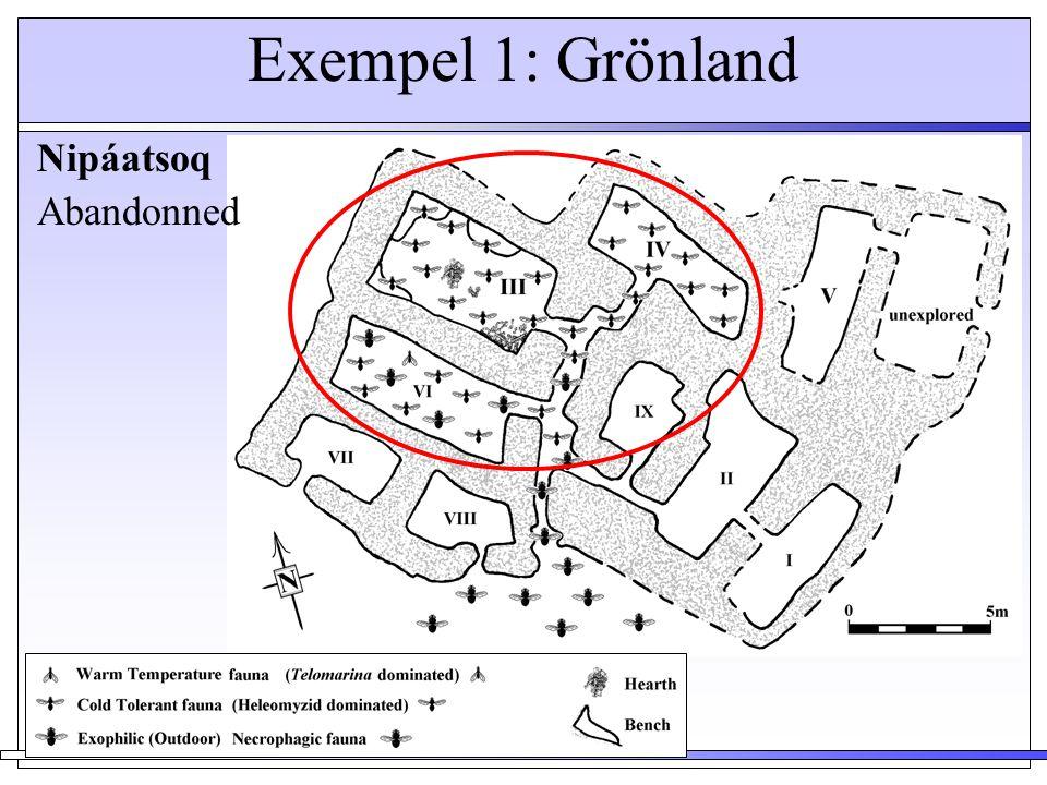 Exempel 1: Grönland Nipáatsoq Abandonned