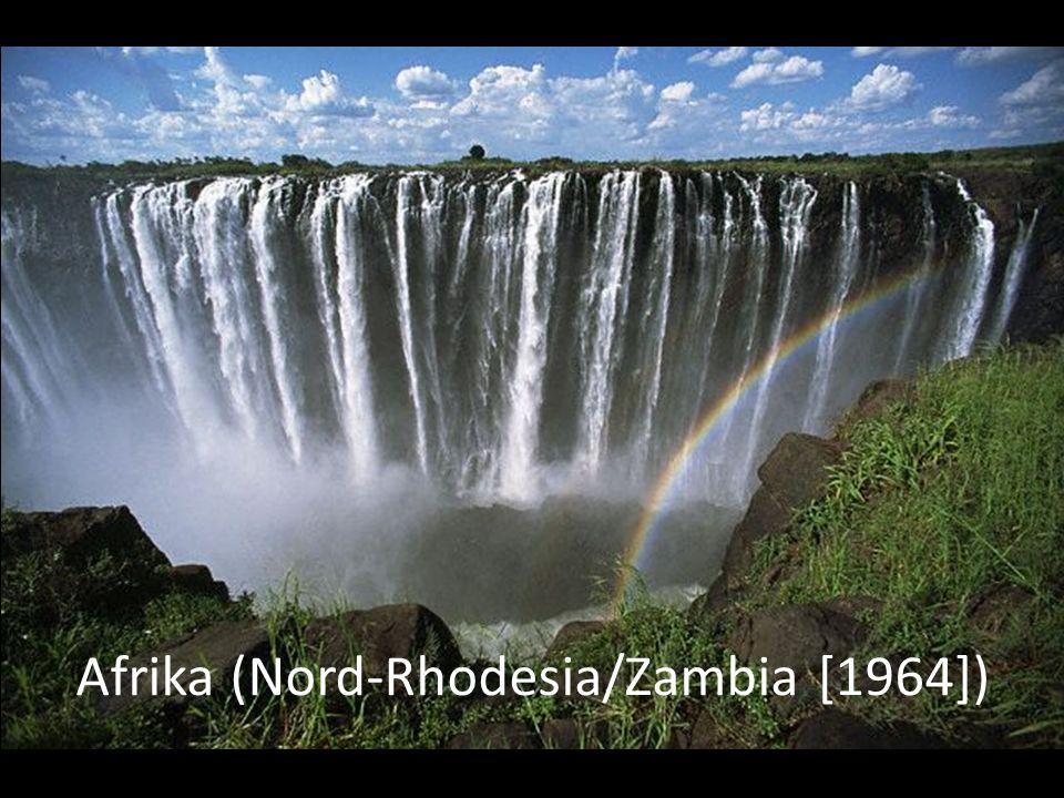 Afrika (Nord-Rhodesia/Zambia [1964])