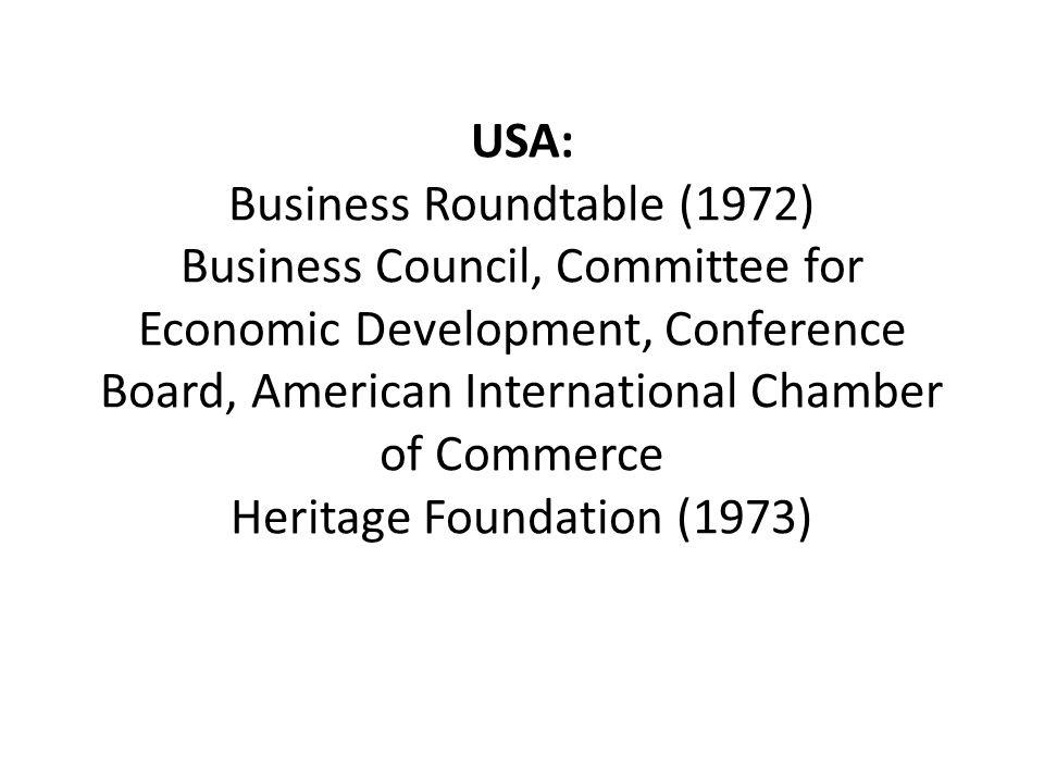 NAFTA (1994) • Business Roundtable, USA*NAFTA