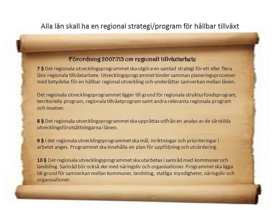 RUS-processplan för 2012-2013 Kick-off Sammanställning förslag till prioriteringar 12/6 26/9 Arbetsprocesser- dialog 28/2 Prioriteringar fastställs 28/4 Delning av förslag till prioriteringar Beslut November Politisk beredning inom regionförbundet Politisk beredning inom Regionförbundet Oktober Remiss Arbetsgrupperna lämnar in förslag till RV 15/2