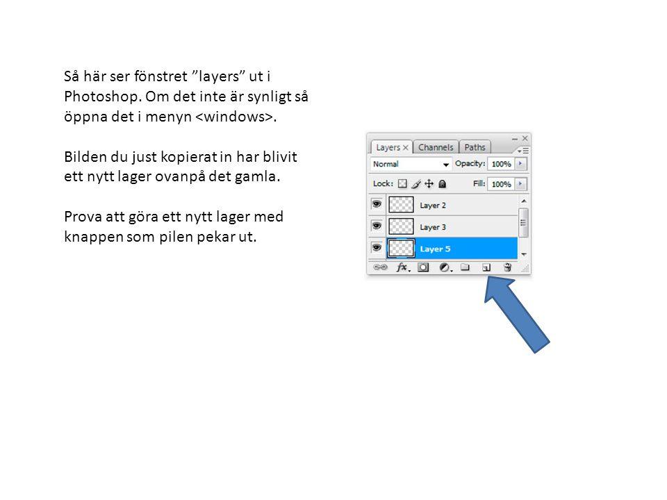 Lägg samman lådans och logotypens lager genom att markera båda med shift- knappen intryckt och sedan högerklicka på lagermenyn och välja merge layers .