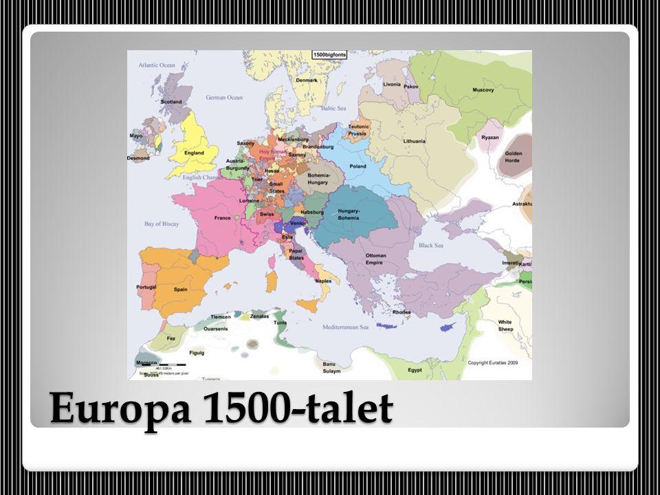 Europa 1500-talet