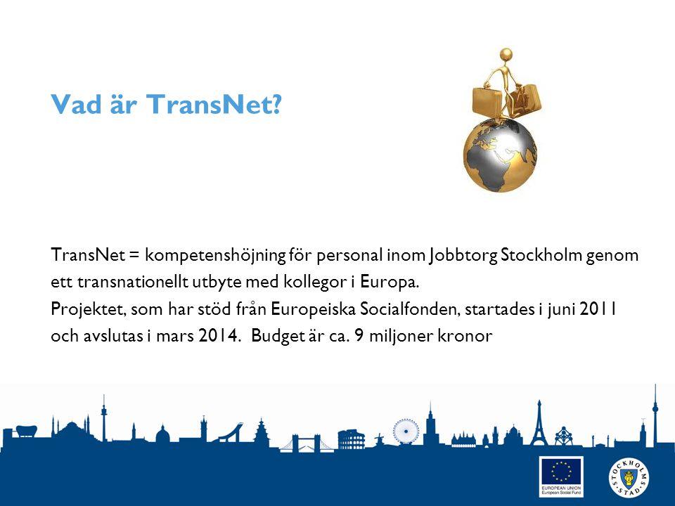 Vad är TransNet.
