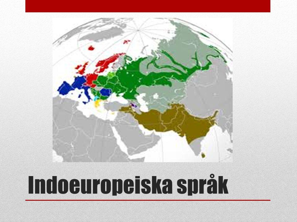 Indoeuropeiska språk