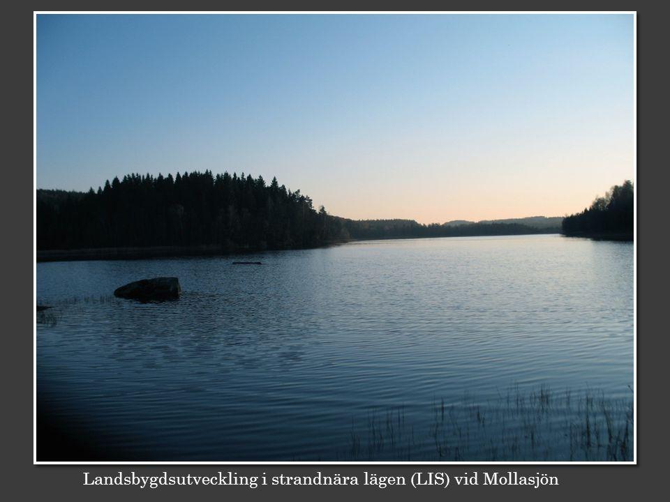 Landsbygdsutveckling i strandnära lägen (LIS) vid Mollasjön