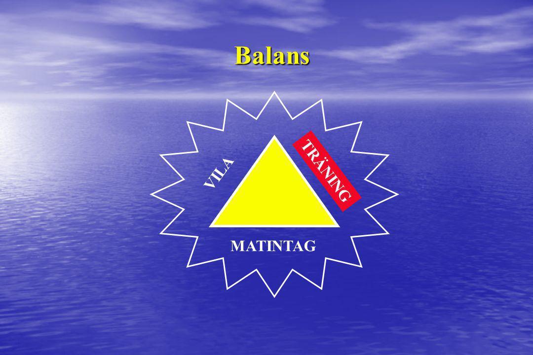VILA TRÄNING MATINTAG Balans