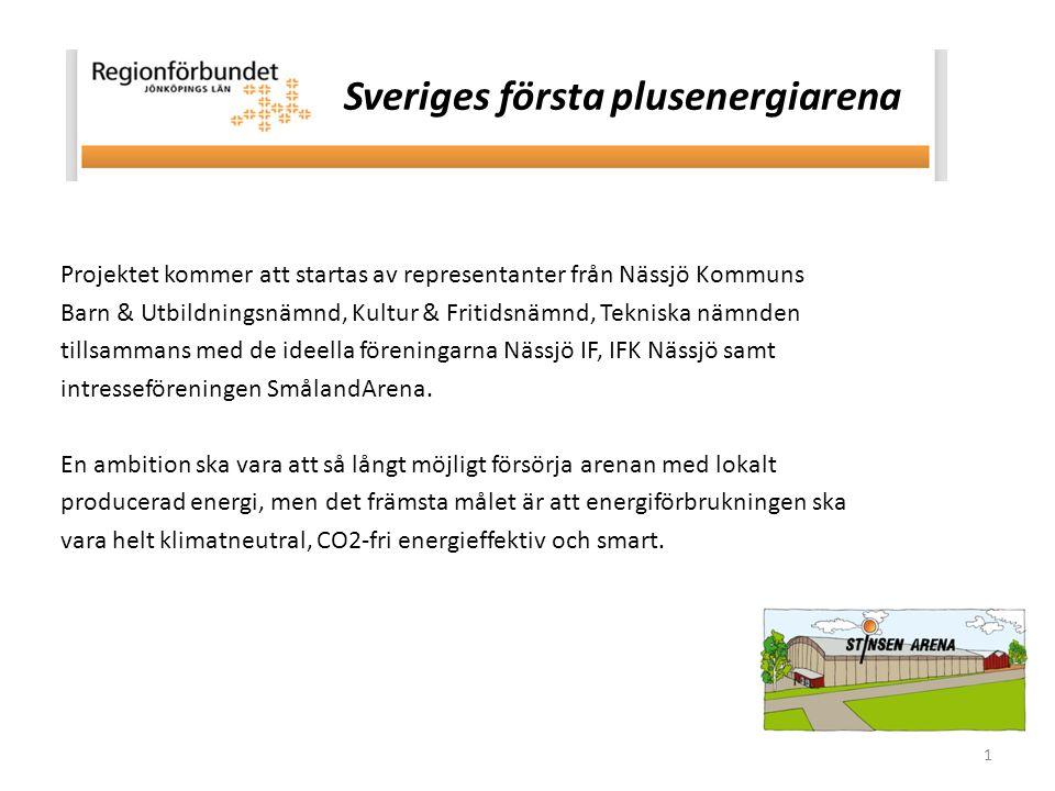 1 Projektet kommer att startas av representanter från Nässjö Kommuns Barn & Utbildningsnämnd, Kultur & Fritidsnämnd, Tekniska nämnden tillsammans med