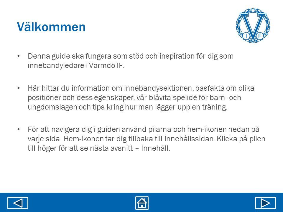 Övningsbank Lekar Källa: Svenska innebandyförbundet